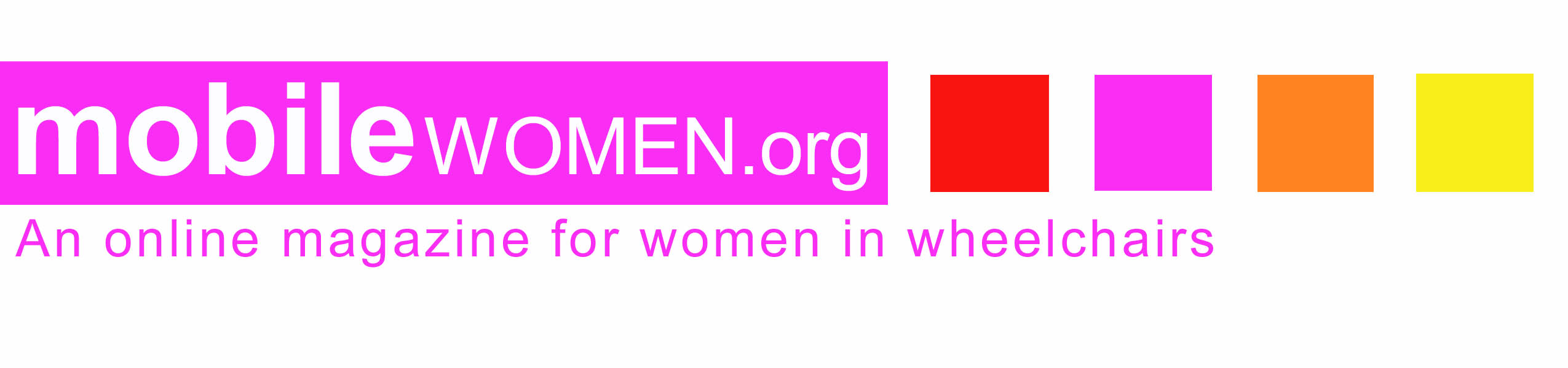 Mobile Women.org logo will open their website in new tab