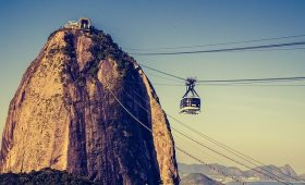 Picture of the tram up Sugarloaf Mountain