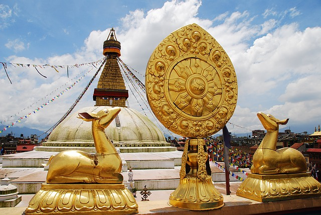 Boudhanath is the largest stupa in the valley and largest stupa in the world.