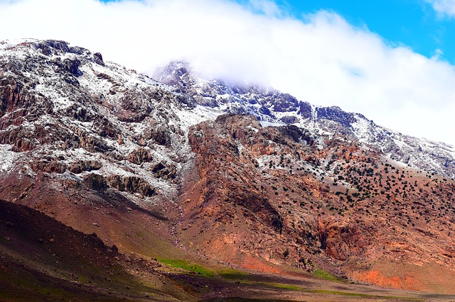 Picture of the Atlas Mountains in Morocco Africa