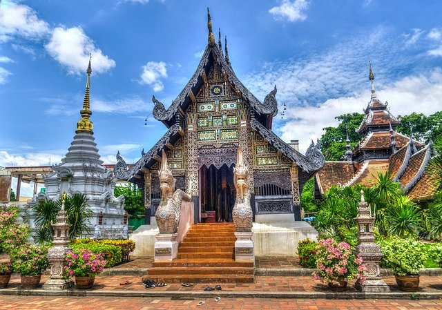 Stunning architecture found in Chiang Mai Thailand