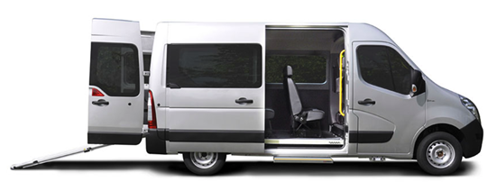 Picture of an accessible van