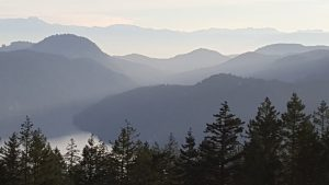 The views from the Malahat are stunning